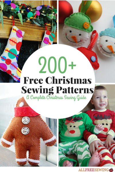Sweet image in free printable christmas sewing patterns