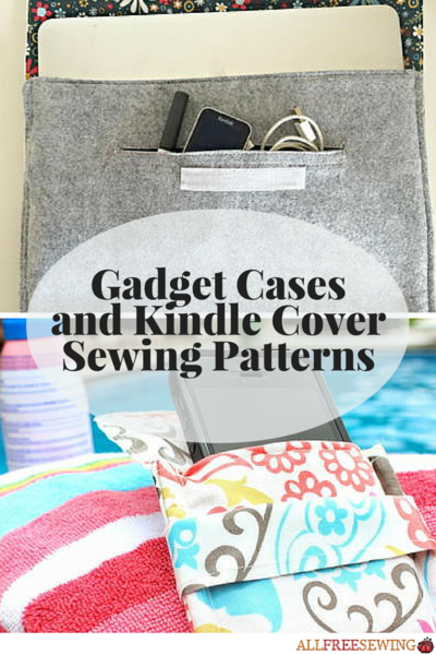 Gadget Cases and Kindle Cover Sewing Patterns
