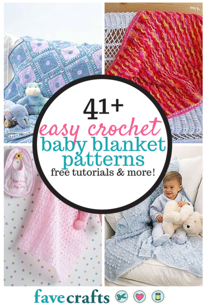 41 Easy Crochet Baby Blanket Patterns: Free Tutorials and More