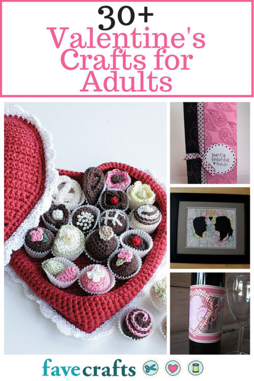 32 valentine crafts for adults making valentine crafts