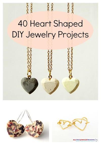 40 Heart Shaped DIY Jewelry Projects AllFreeJewelryMaking.com
