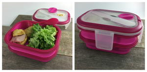 Smart Planet Collapsible Double Decker Meal Kit