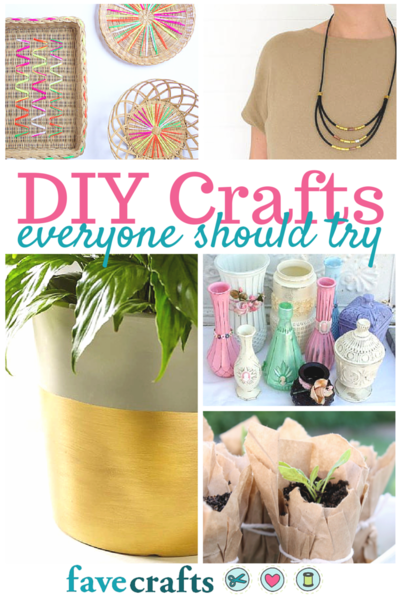 53 diy crafts everyone should try for What craft should i do