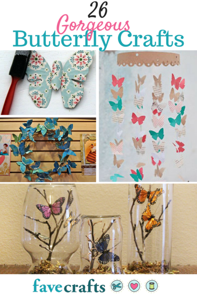 26 Butterfly Crafts