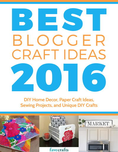 Best Blogger Crafts 2016 free eBook