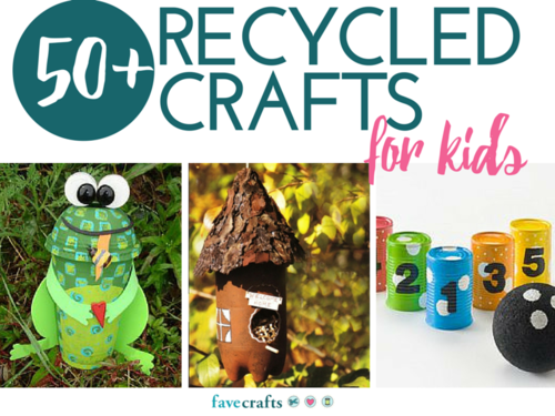 53 Recycle Crafts for Kids