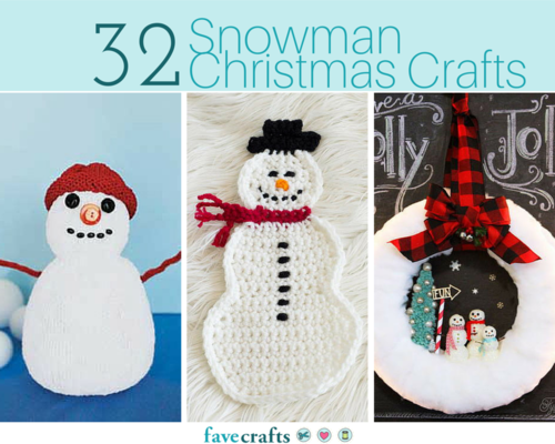 32 Snowman Christmas Crafts