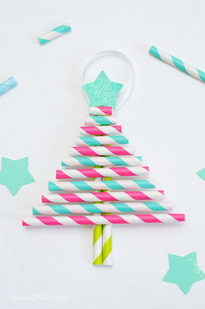 Dollar Store DIY Ornaments