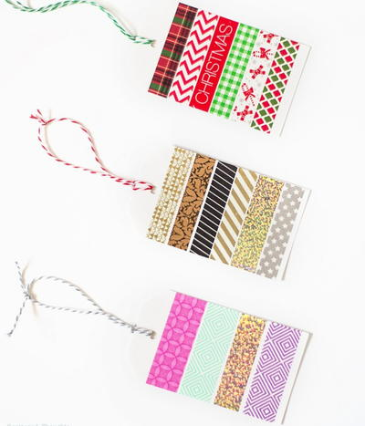 Washi DIY Christmas Ornaments