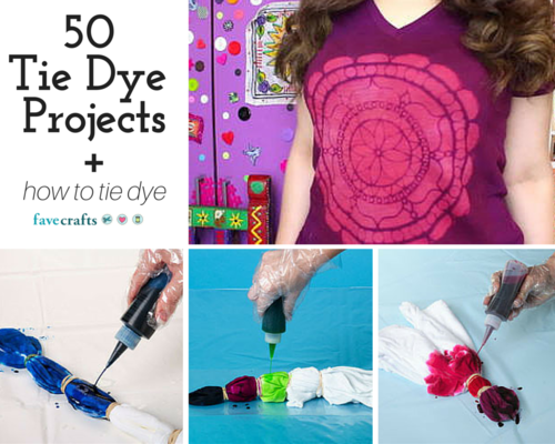 Tie Dye Craft Projects