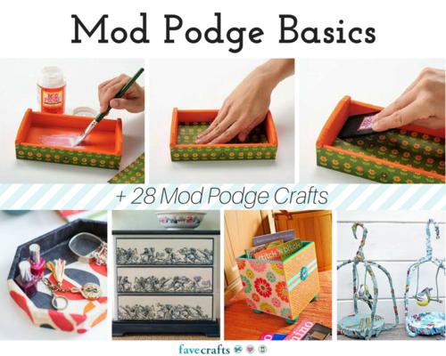 Mod Podge Basics