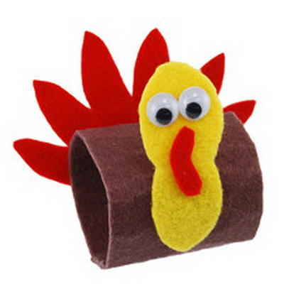 Easy Thanksgiving Napkin Rings