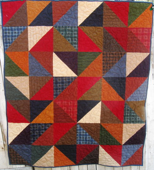 Like Home Flannel Snuggle Quilt