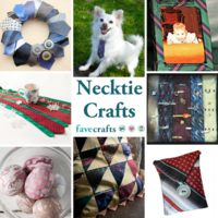 8 Necktie Crafts and Ways to Repurpose Neckties