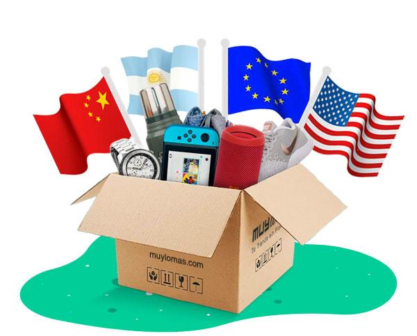 A nuestro extenso catálogo de USA, se suman millones de productos de Argentina, China y Europa.