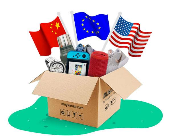 Comprá en el catálogo más grande del mundo con los principales ecommerce de China, USA y Europa.