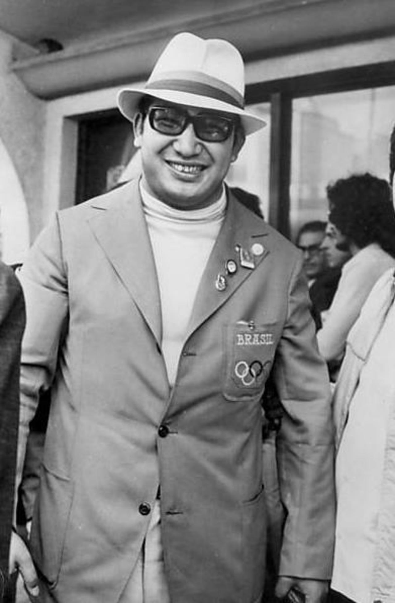 d59c850a0859f 07. Chiaki Ishii com o uniforme da delegação brasileira em 1972.