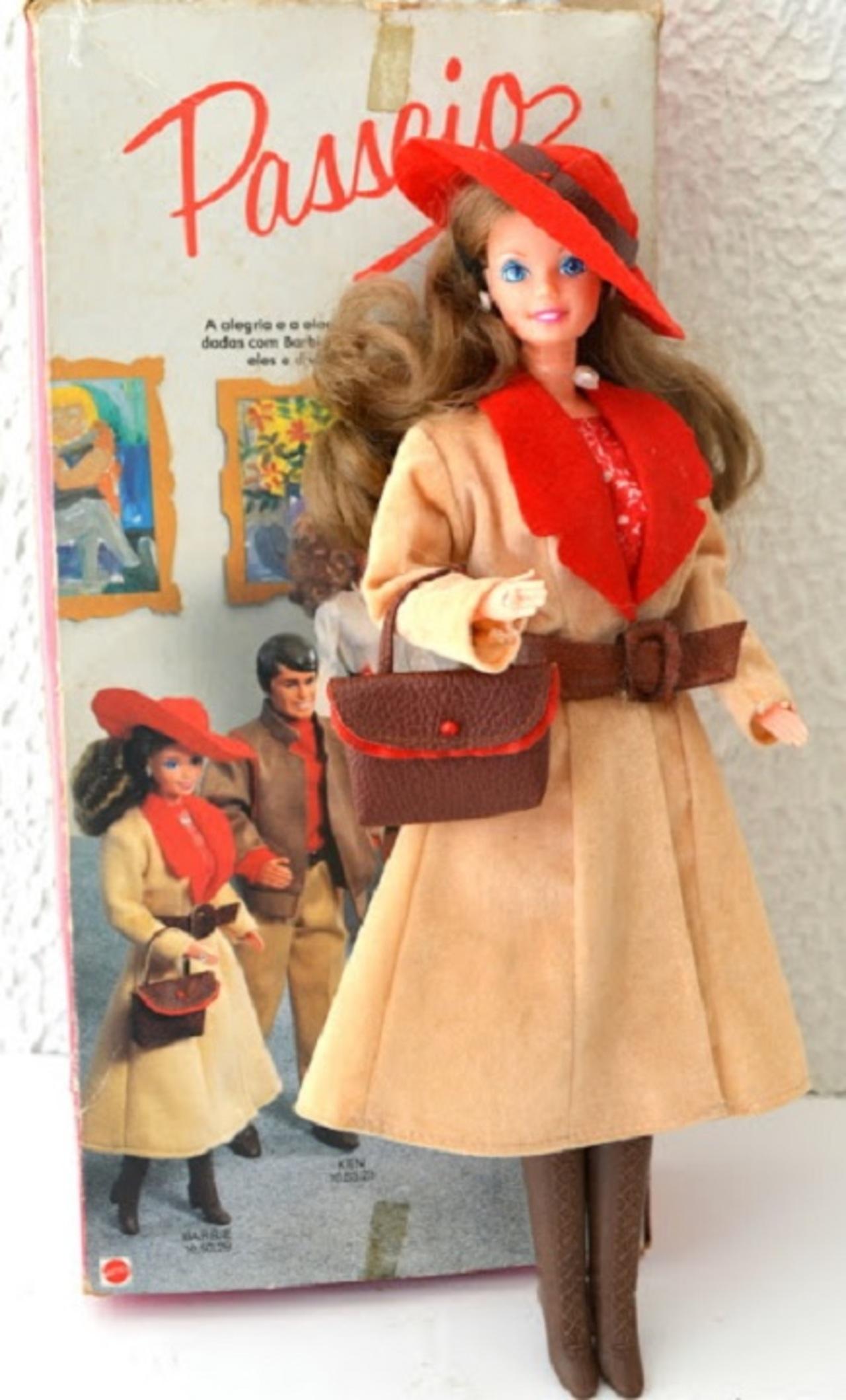 Boneca Barbie Anos 80 Muzeez