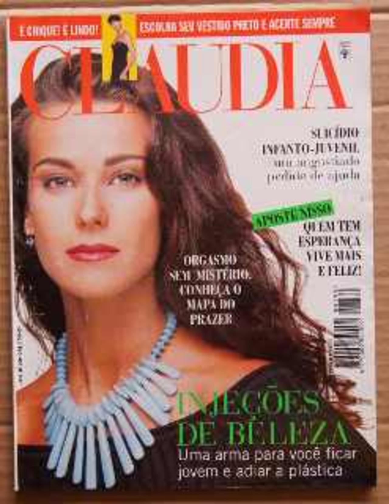 aa693cccbf2b4 Revista Claudia (Anos 90) - Muzeez