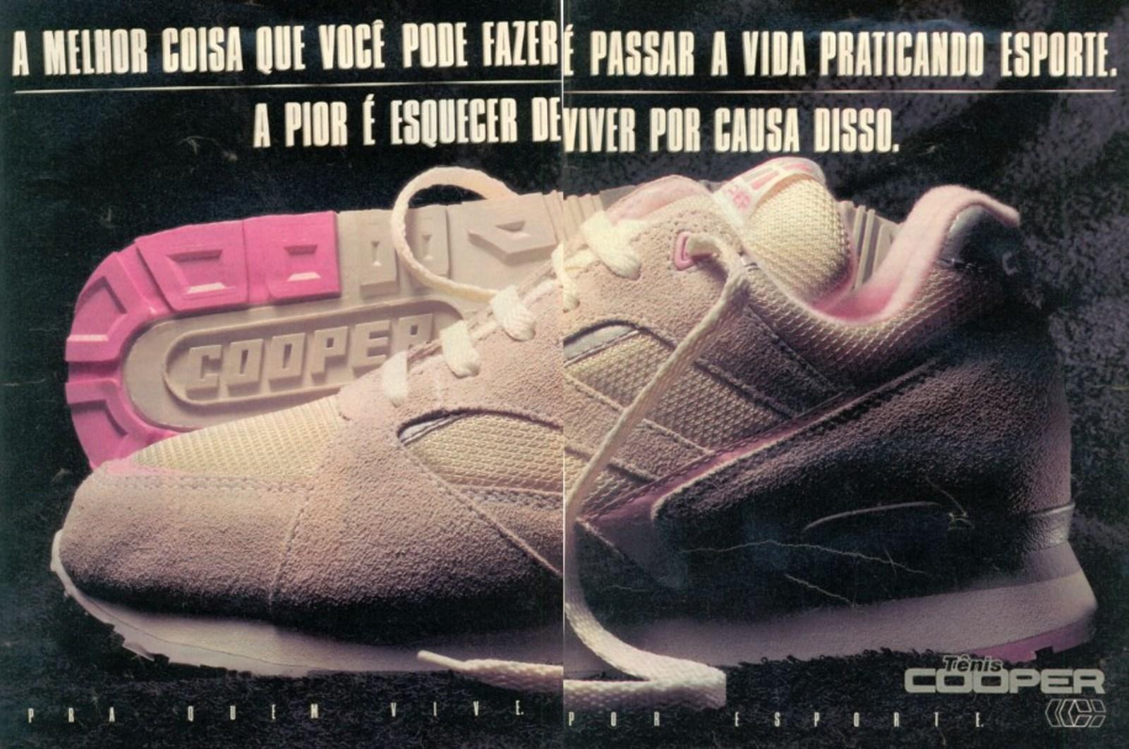 cd1a3620d26 Tênis Cooper (1991) - Muzeez