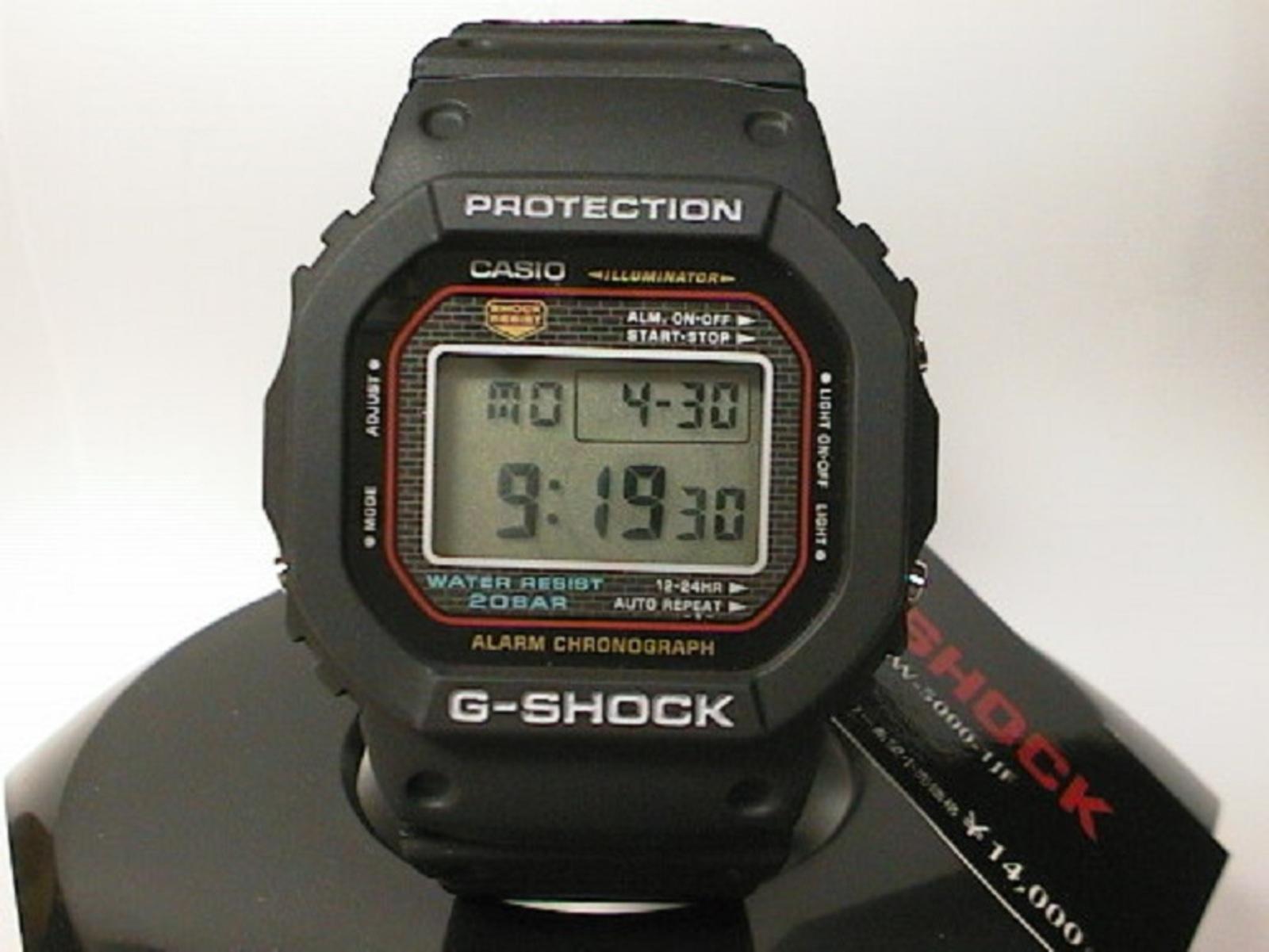 77d1eaa0be5 Relógio Casio G-Shock DW-5000C - Muzeez