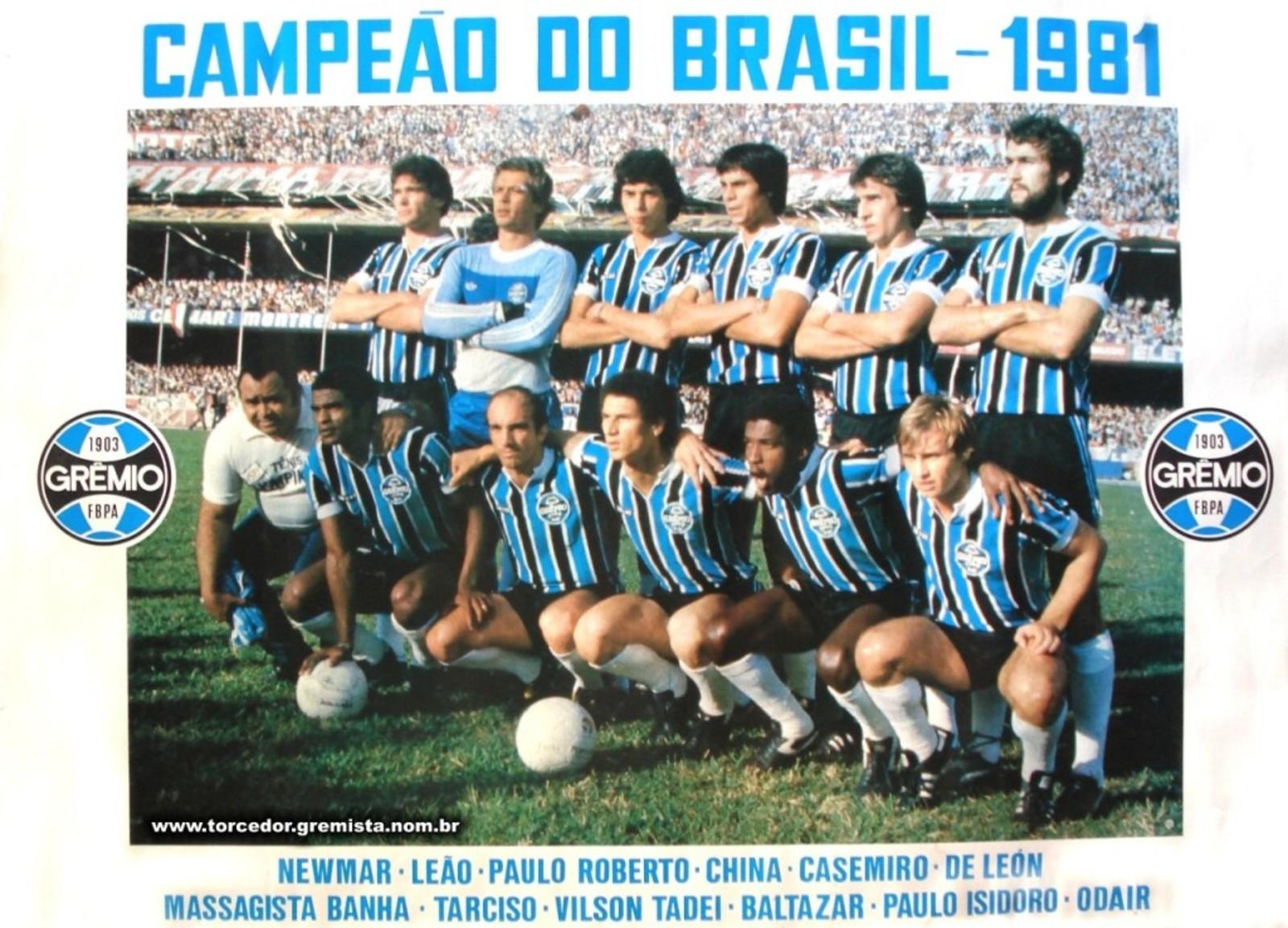050f289620 Final Taça de Ouro – 1981 – Grêmio x São Paulo - Muzeez