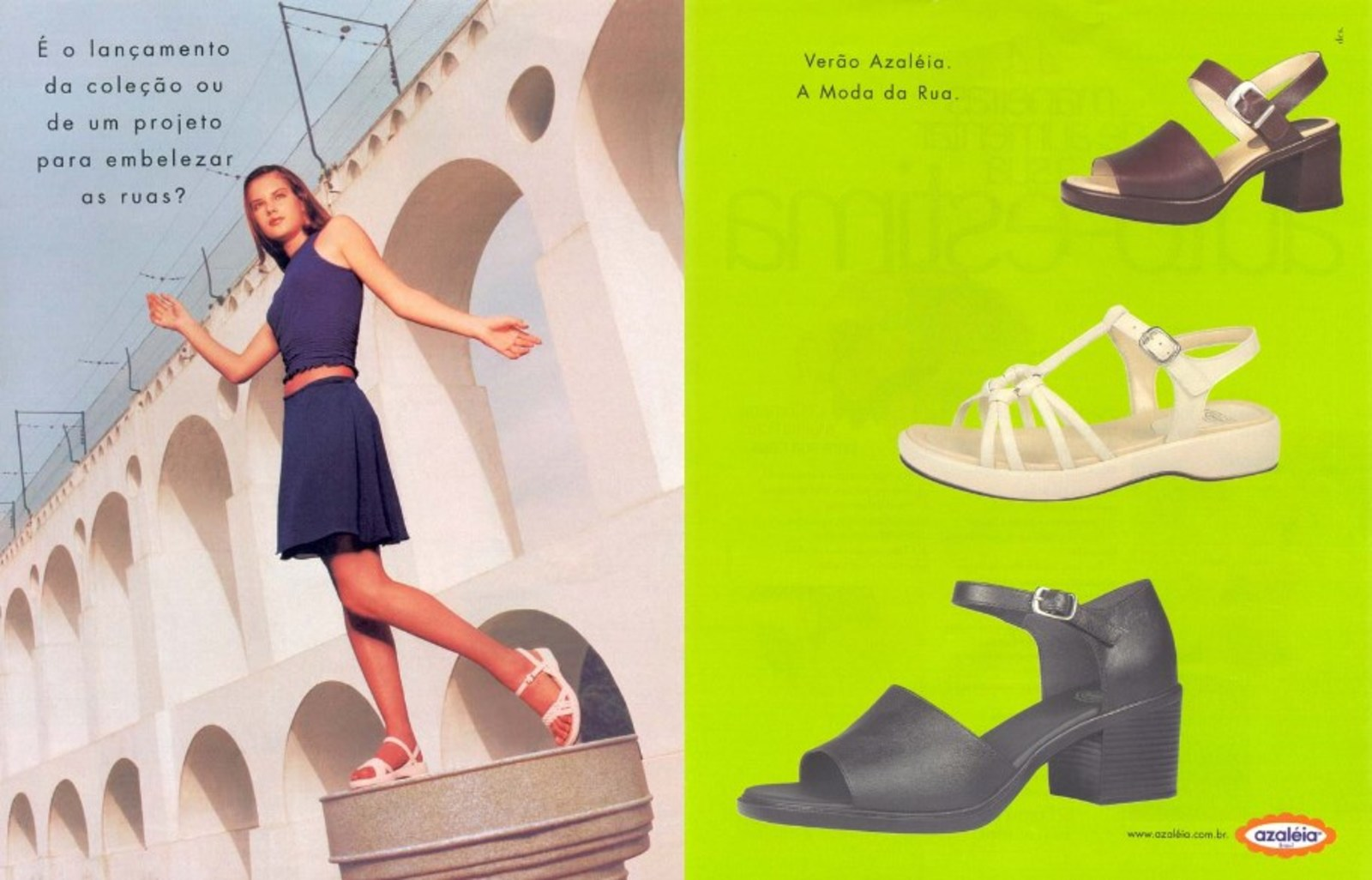cec6f1887 Sapatos Azaleia - Coleção 1997 - Muzeez