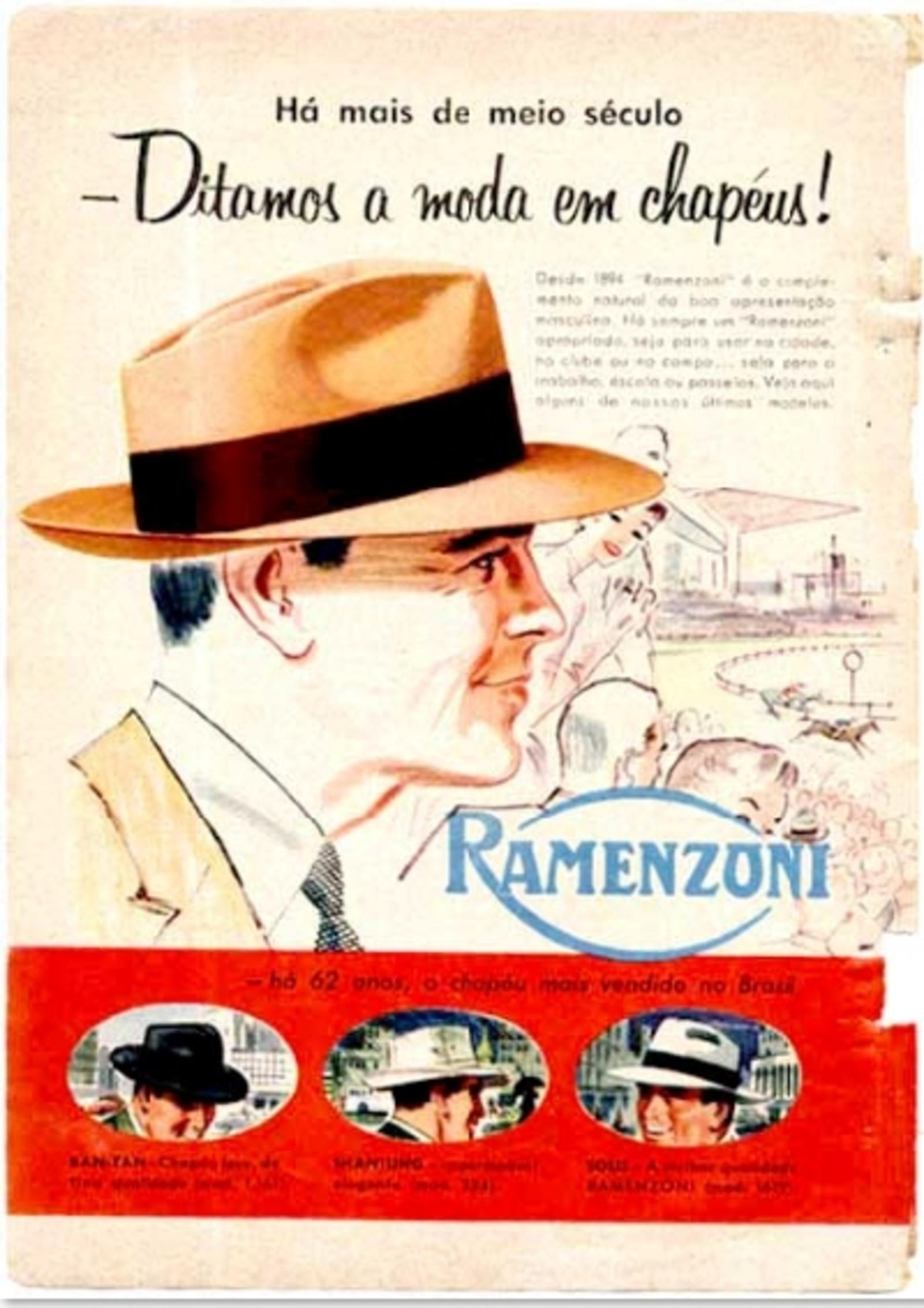 Chapéus Ramenzoni (1956) - Muzeez 7c5f0cb34b7