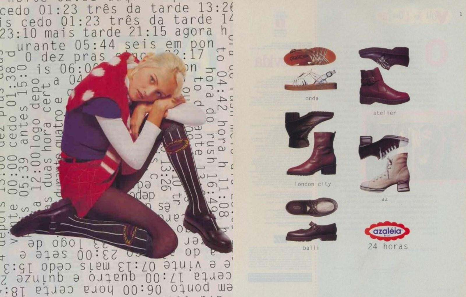 3c64e079fa06f Sapatos Azaleia - Coleção 1995 - Muzeez