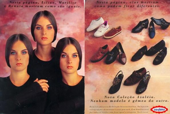 86f21fe21 Sapatos Azaleia - Coleção 1993 - Muzeez