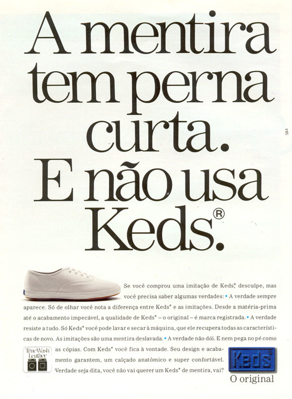 445aac2244 Tênis Keds (1993) - Muzeez