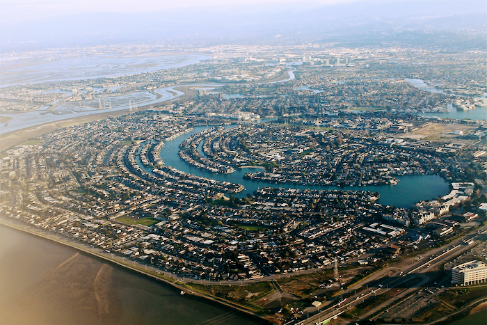Aerial shot of Silicon Valley.