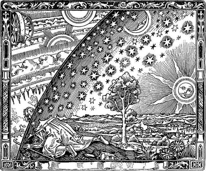 The Flammarion Engraving, via Wikipedia.