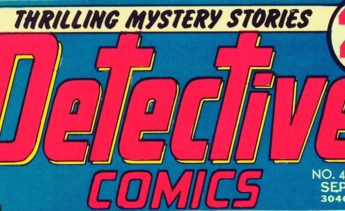 The title of a scan of a vintage comic magazine, which reads Thrilling Mystery Stories Detective Comics.