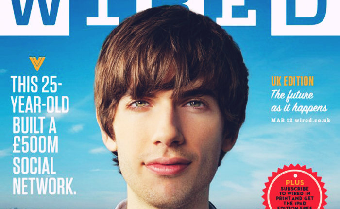 An example of 'Hacker Hair' is David Karp of Tumblr, as depicted on a Wired Cover.