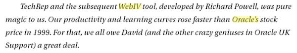 WebIV Testimonial