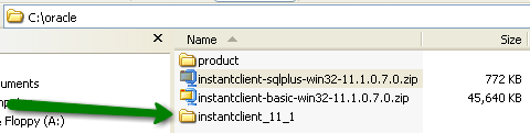 Installing Oracle instantclient basic and instantclient