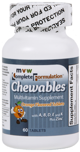 MVW Complete Formulation Chewables – Orange