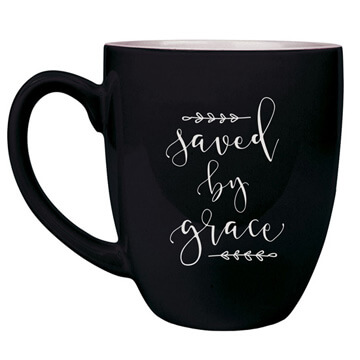 Saved By Grace New Bistro Mug