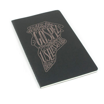 Without the Gospel Laser Etched Moleskine Journal