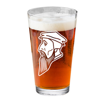John Calvin Pint Glass