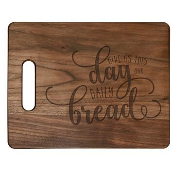 Give Us This Day Cutting Board