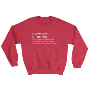 Atonement (Definition) - Crewneck Sweatshirt