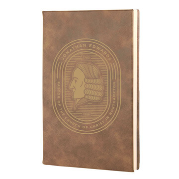 Jonathan Edwards Badge Leatherette Hardcover Journal