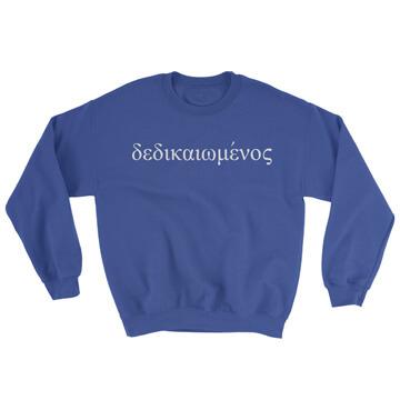 Justified (Greek) - Crewneck Sweatshirt