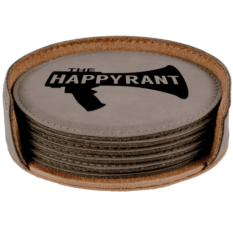 Happy Rant Coaster Set of 6