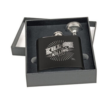 Kill Sin Or It Will Be Killing You Flask Set