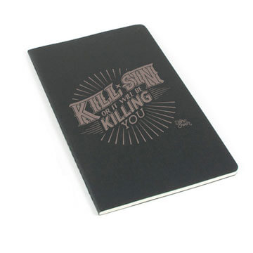 Kill Sin Or It Will Be Killing You Laser Etched Moleskine Journal