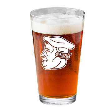 Martin Luther Profile Pint Glass