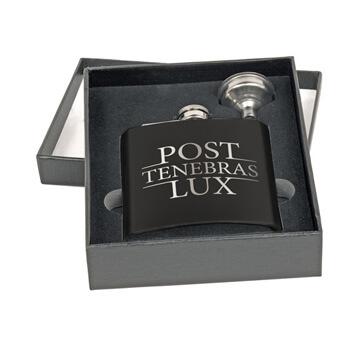 Post Tenebras Lux Flask Set
